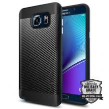 SpigenSPIGEN Neo Hybrid Carbon Skal till Samsung Galaxy Note 5 - Metal Slate