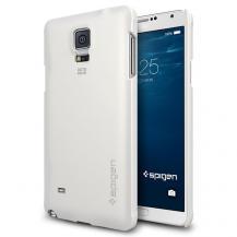 SpigenSPIGEN Thin Fit Skal till Samsung Galaxy Note 4 (Vit)