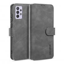 A-One BrandDG.Ming Retro Plånboksfodral Galaxy A32 5G - Grå