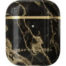 iDeal of SwedenIdeal Apple Airpods 1/2 Case Golden Smoke Marble