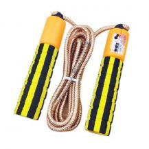 HurtelSkipping rope med a jump counter fitness crossfit Gul