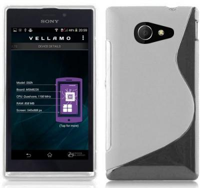 Flexicase Skal till Sony Xperia M2 - Transparent