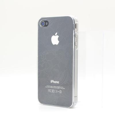 Baksidesskal till iPhone 4/4S (Transparent)