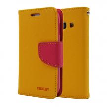 MercuryMercury Fancy Diary Plånboksfodral till Samsung Galaxy Ace 3 S7272 (Gul)