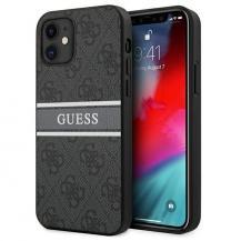 GuessGUESS Skal iPhone 12 Mini Stripe - Grå