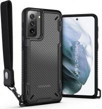 VERUSVRS DESIGN - Crystal Mixx Pro Skal Samsung Galaxy S21 Plus - Svart