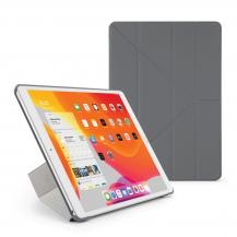 """PipettoPipetto iPad 10.2"""" 2019 Origami fodral - Grå"""