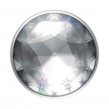 PopSocketsPOPSOCKETS Disco Crystal Silver Avtagbart Grip