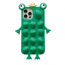 Fidget ToysCrazy Frog Pop it Fidget Skal till iPhone 7/8/SE 2020