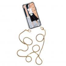 Boom of SwedenBOOM OF SWEDEN - Halsband mobilskal till Huawei P40 Lite - Chain Golden