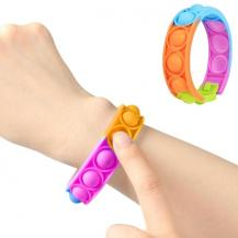 Fidget ToysPop it Fidget Toy - Flera Färger & Modeller - Armband - Flerfärgad
