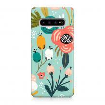 TheMobileStore Slim CasesDesigner Skal till Samsung Galaxy S10 - Pat2114