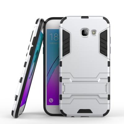 Hybrid Mobilskal till Samsung Galaxy A5 2017 - Silver