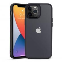 ESRESR Classic Hybrid mobilskal iPhone 12 & 12 Pro - Black/Clear