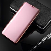 TaltechWindow Mirror Fodral till Samsung Galaxy S10 - Rosé Guld
