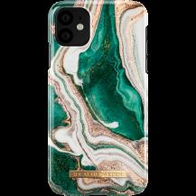 iDeal of SwedeniDeal of Sweden Skal Till iPhone 11 - Golden Jade Marble