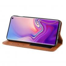 A-One BrandVintage Fodral för Samsung Galaxy S10e - Brun
