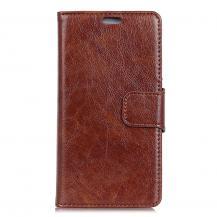 OEMPlånboksfodral till Sony Xperia 10 - Brun