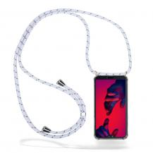 CoveredGearCoveredGear Necklace Case Huawei P20 Pro - White Stripes Cord