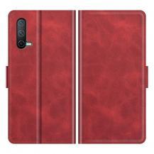 A-One BrandFlip Folio Plånboksfodral till Oneplus Nord CE 5G - Röd