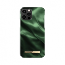 iDeal of SwedenIDEAL FASHION CASE iPhone 12 & 12 Pro EMERALD SATIN
