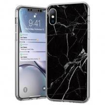 WozinskyWozinsky Marble skal iPhone 12 mini Svart