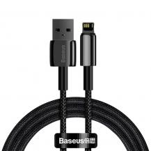 BASEUSBaseus Tungsten Lightning USB Kabel 1 m - Svart