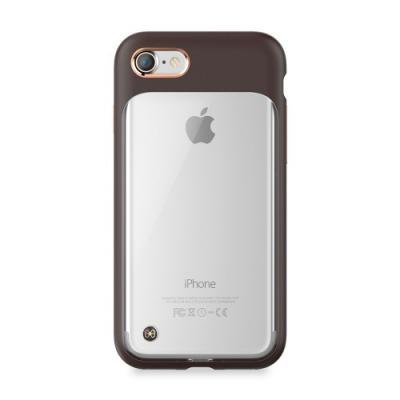 StilMind Monokini Skal till Apple iPhone 8/7 - Brun