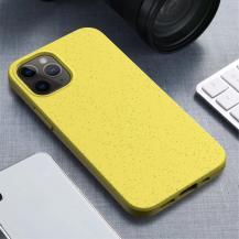 OEMWheat Straw Eco-Vänling Mobilskal iPhone 12 Mini - Gul