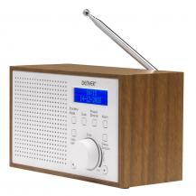 DenverDenver FM/DAB+ Radio Trä/Vit