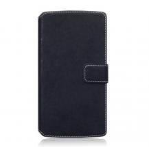 TerrapinSlim Book Plånboksfodral till Samsung Galaxy Note 5 - Svart