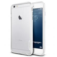 SpigenSPIGEN Neo Hybrid EX Bumper Skal till Apple iPhone 6(S) Plus (Vit)