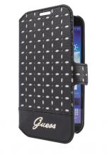 GuessFYNDVARA - Guess Samsung Galaxy S4 Mini Slim Bookletcase Gianina Svart