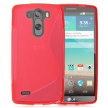 A-One BrandFlexicase Skal till LG G3 S - Röd