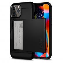 SpigenSPIGEN Slim Armour CS Skal iPhone 12 Pro Max - Svart
