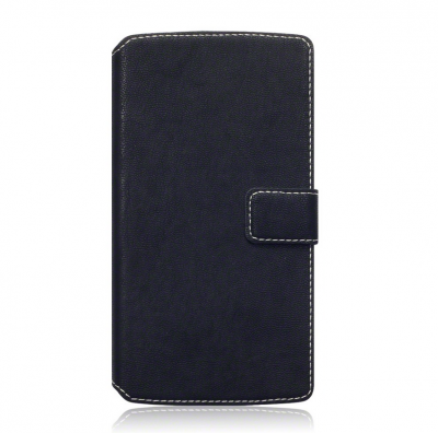 Slim Book Plånboksfodral till Samsung Galaxy Note 5 - Svart