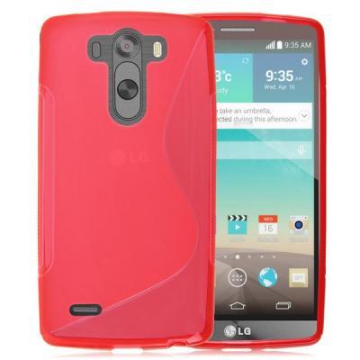 Flexicase Skal till LG G3 S - Röd