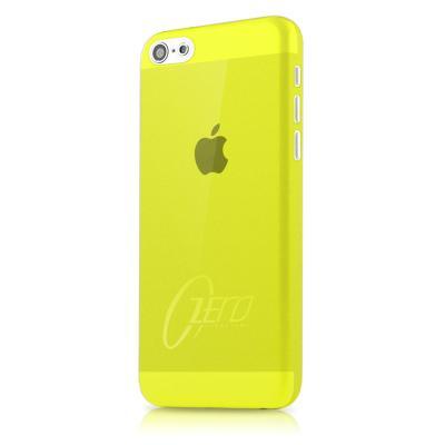 ITSkins Zero 3 Skal till iPhone 5C (Gul) + Skärmskydd