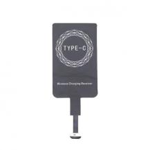 A-One BrandQi Adapter för trådlös laddning (USB-C) - Svart