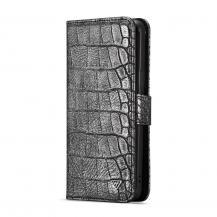 A-One BrandWHATIF Croco Plånboksfodral Samsung Galaxy S9 Plus - Svart