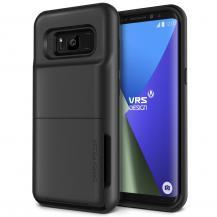 VERUSVerus Damda Folder Card Slot Skal till Samsung Galaxy S8 Plus - Dark Silver