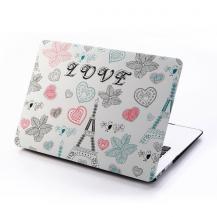 "A-One BrandSkal till MacBook Pro 15"" Retina - Love Eiffel"