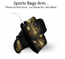 A-One BrandPCMAMA Sportarmband till iPhone 4S/4 / 3G / 3GS / iPOD (Embroidery)