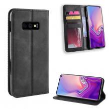 A-One BrandVintage Fodral för Samsung Galaxy S10e - Svart