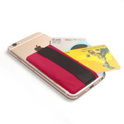 Kreditkortshållare för smartphones - Röd
