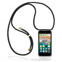 CoveredGear-NecklaceCoveredGear halsbandsskal iPhone 7 Plus & iPhone 8 Plus - Black Cord