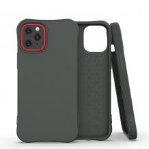 HurtelSoft Color Case iPhone 12/12 Pro Skal Mörk Grön