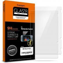 SpigenSpigen Härdat glas Glas.Tr Slim 2-Pack Nintendo Switch