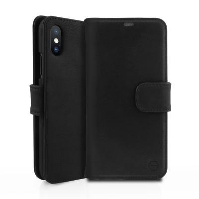 ITSKINS Bookcase Plånboksväska till iPhone XS / X - Svart