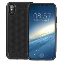 IVSOIVSO Geometric Hexagon Skal till iPhone XS / X - Svart